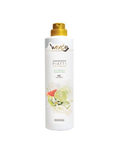Concentrato piatti Wexór detersivo gel stoviglie antiodore deterge, sgrassa donando la freschezza di note agrumate.