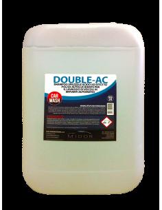 DoubleAc shampoo spazzole acido effetto polish autolucidante per lavaggio in impianti automatici dotati di spazzoloni
